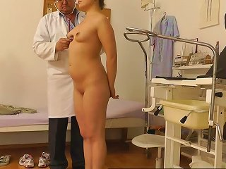 Girl Spreads Legs In Front Of The Doctor Teen Video