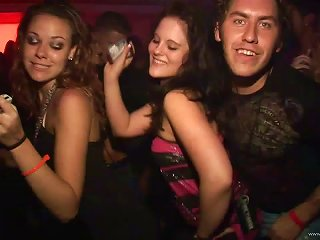 Pretty Amateur Teens With Long Hair Dancing Erotically In A Party At The Club Teen Video