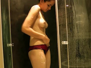 Sensual Shower By Insolent Teen Teen Video