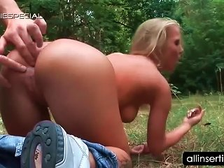 Teen Naked Blonde Gets Ass Hole Toyed Outdoor Teen Video