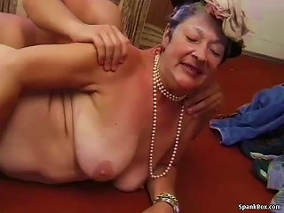 Granny Gets Reamed By Young Man Teen Video