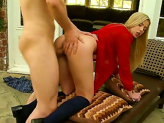 Abigaile Is The Type Of Blonde-haired And Blue-eyed Girl That Youve Been Wanting To Fuck Hard. Shes Just Kicking It Back Outside When Erik Everhard Dr Teen Video
