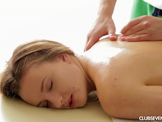 After A Sensual Massage She Is Ready To Take A Hard Cock In Her Pussy Teen Video