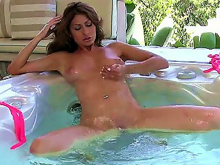 Warm Water Tickles Anna Cruz To The Point Where Her Fingers Have To Take Over. She Gets Hot And Frothy In This Solo Masturbation Scene Where She Finge Teen Video