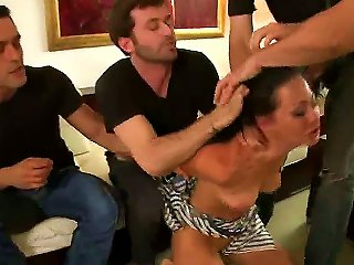 Beautiful And So Sex Appeal Hottie Sandra Romain Is Feeling Enormous Huge Cocks Of James Deen, Steve Holmes And Other Men Penetrating Inside Of Her Wi Teen Video