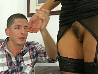 Old Woman And Young Stud Get Nice And Messy Together Teen Video