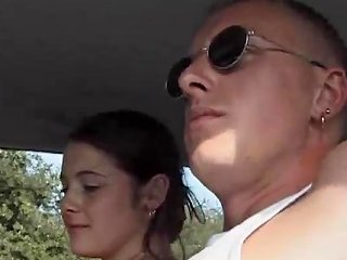 Sexy Chick Karina Sucks Her Man Outdoors Then Gets Fucked In The Car Teen Video