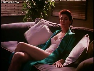 Sensual Sean Young Wearing A Tight White  And Sexy Teen Video