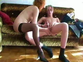 Russian MILF Redhead Eager For That Teen Cock Teen Video