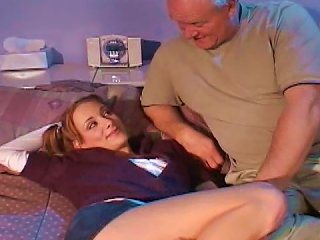 Young Hottie Fucked By Senior Guy Teen Video