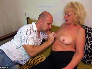 Hot Young Guy Fucking Granny With Strap-on Teen Video