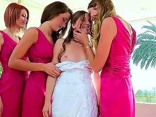 Today You Will See How Sexual Bride Aurielee Summers Is Having Group Lesbian Fun With Her Girlfriends Bree Daniels, Jessi Andrews, Malena Morgan And T Teen Video