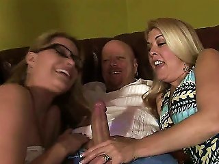 Horny Moms Are Always Showing To Their Daughters How To Make A Cool Blowjob. For Example, Whis Experienced MILF Willed To Demonstrate Her Skills On Th Teen Video