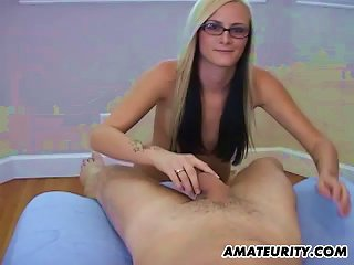 Amateur Teen Girlfriend With Glasses Full  With Cim Teen Video