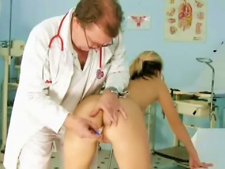 Gynecologist And Teen Patient At Play Teen Video