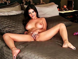 Gorgeous Lady Sunny Leone In Beautiful Lingerie Loves To Stimulate Her Gentle Pussy That Becomes Wet After Playing With Her Big Boobs. Teen Video