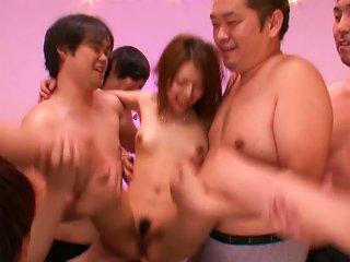 Hot Asian Whore Gets Gangbanged Teen Video
