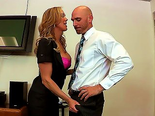 Love Is In The Air And Sex Is In The Office As Johnny Sins Puts Big Titty Brandi Love Through A Rigorous Evaluation How Will Her Tit-wank And Blow Job Teen Video