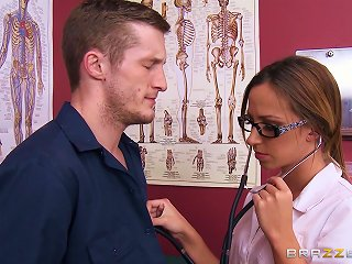 Pretty Young Nurse With  Enjoying A Hardcore  Style Fuck Teen Video
