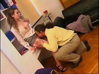 Cute Young Chick Eaten Out By Her Teen Video