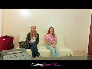 Cute Young Women  A Cock Teen Video