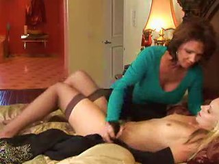 Teen Fucked By Strapon By A Hot MILF Teen Video