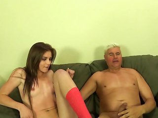 Slim Cutie Emma Stoned Blows And Gets Her Pussy Smashed Teen Video