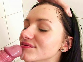 Anal Sex In The Shower Along Sleazy Teen Teen Video