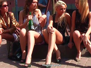 Young Babes Posing In Teen Video