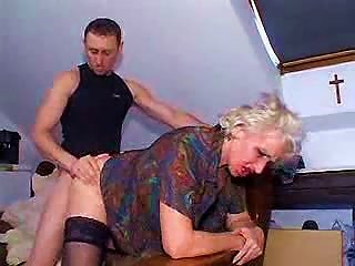 Young Man Bangs Granny For His Pleasure Teen Video