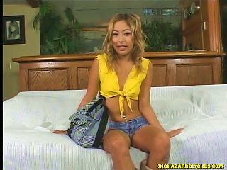 Asian Bitch Wearing Shorts Enjoys A Hot Dp In Mmf Sex Video Teen Video