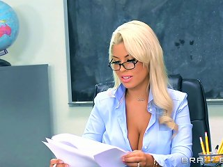 Sexiest Teacher In The Entire School Getting Nailed On The Table Teen Video