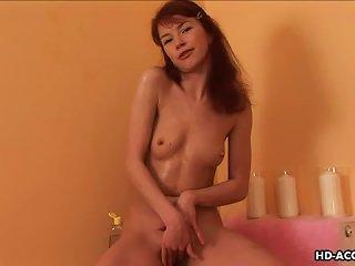 Kinky Redhead Teen With Tiny Tits Using Hot Wax Teen Video