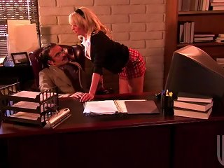 Schoolgirl Seduces In His Office Teen Video