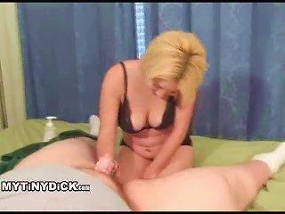 Cute  Girl Stroking Small Penis Teen Video