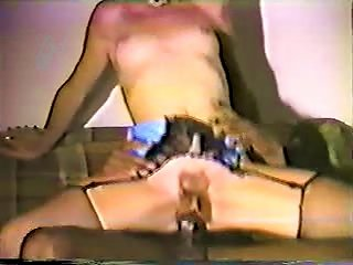 Young Blonde White Wife With Black Lover - Homemade Interracial Teen Video