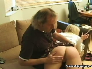 Soft Schoolgirl Ass Given Real Spanking Teen Video