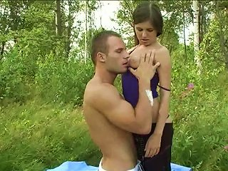 Outdoor Sex With Monica O And Her Lovely Muscular BF Teen Video