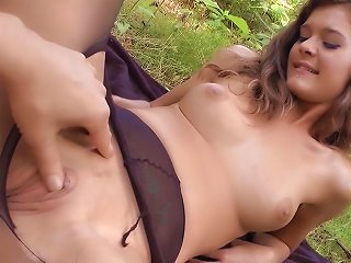 Outdoor Penetration With A Naughty Teen Teen Video