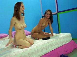 Skinny Teens In Socks Enjoy Having One Cock For Themselves Teen Video