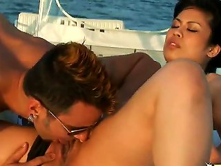 Naughty Asian Chick Sasha Hollander Spreads Legs And Feels How Handsome Dude Voodoo Starts Playing With Her Pussy By Tongue And Fingers. She Gives Gre Teen Video