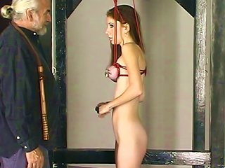 Young Babe Gets Bdsm Stimulated Teen Video