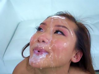 Massive Facial To End Babe's Filthy Fuck Adventure Teen Video