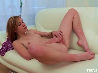 Teen Exposes Her Pink Pussy Teen Video