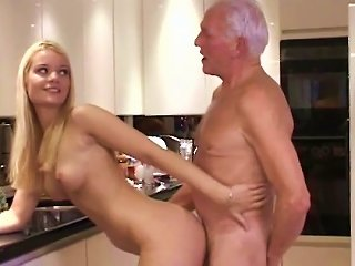 Young Blonde Fucked By Older Male Teen Video