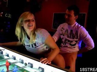 Big Tit Blonde Slut Agata And Karel  And Doggy Teen Video