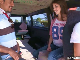 Beautiful  Teen Fucked In The Back Of A Van In Reality Porn Clip Teen Video