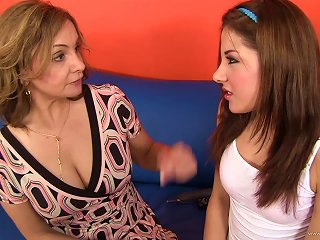 Hot MILF And Naughty Teens Have Hot Lesbian Sex Teen Video