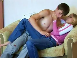 Teen Couple Foreplay And Hot Fuck Fun Teen Video