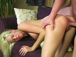 Her Pink Pussy Slides It Deep Teen Video